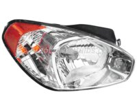 Hyundai Accent Headlight
