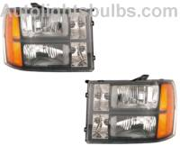 GMC Sierra Headlight