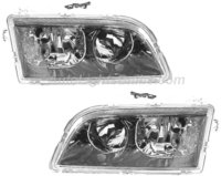 Volvo V40 Headlight