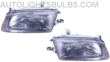 1995-1996 Mazda Protege Headlight