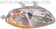 1996-1998 Honda Civic Headlight