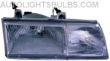 1989-1991 Ford Taurus Headlight