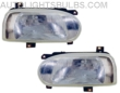 1993-1999 Volkswagen Golf Headlight